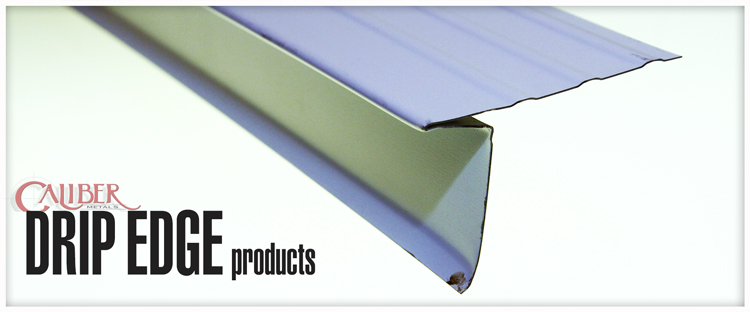 drip edge metal roofing and siding products