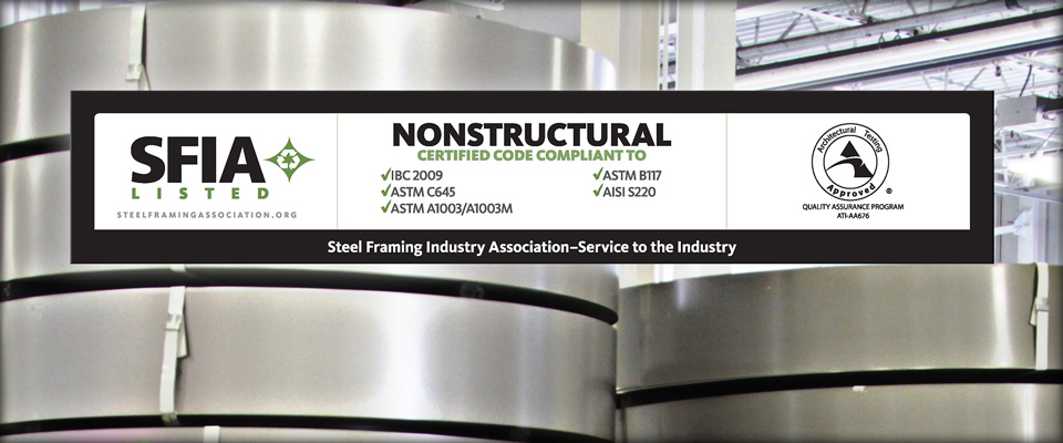SFIA Certification – Structural